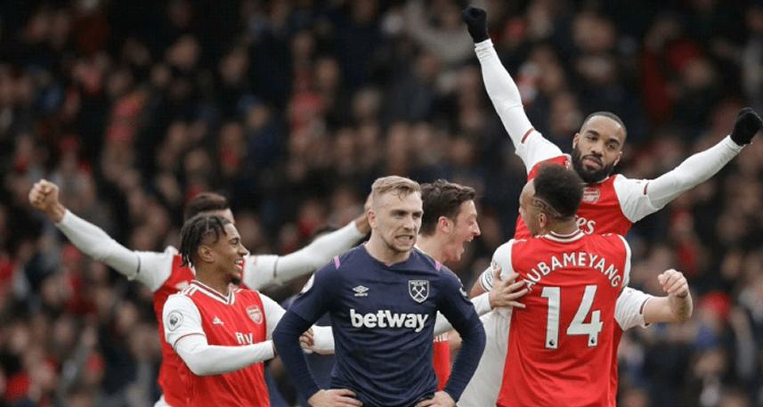 مباراة أرسنال وست هام يونايتد ، الجولة الثانية من الدوري الإنجليزي الممتاز ، التشكيلة ، معلومات المباراة