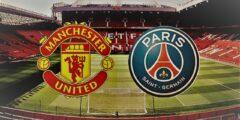 موعد مباراة القمة الأوروبية باريس سان جيرمان ومانشستر يونايتد والقنوات الناقلة للمباراة