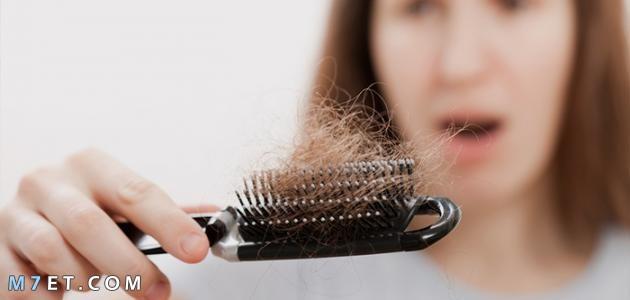 وقف تساقط الشعر