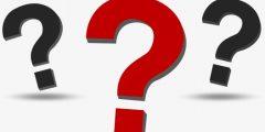 احدد الاسئلة الثلاثة الاولى التي سألها جبريل